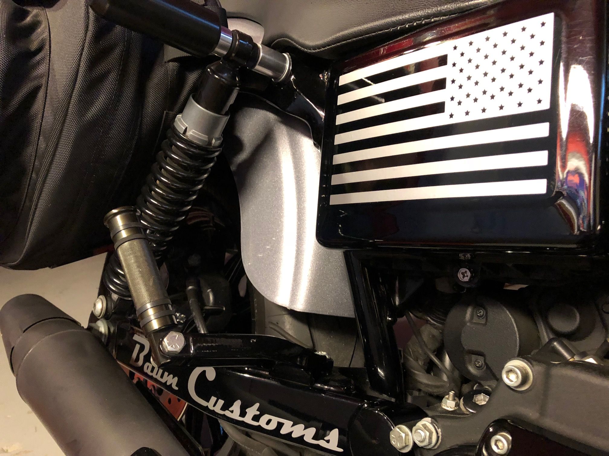 Harley Davidson Fuse Box Cover Not Lossing Wiring Diagram Softail American Flag Battery Decal Baum Customs Rh Baumcustoms Com 2011 Heritage Classic Location Corrosion