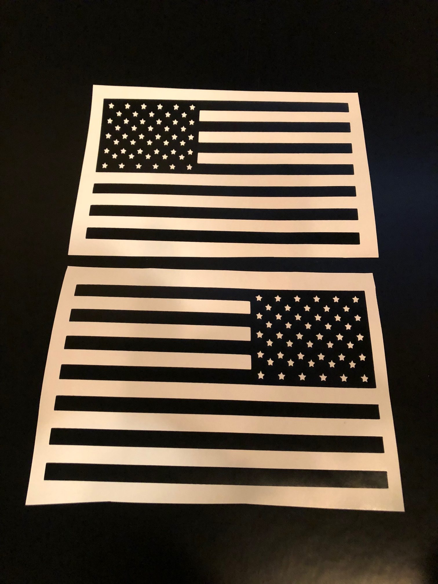 American Flag Battery Fuse Box Decal Baum Customs Custom Motorcycle