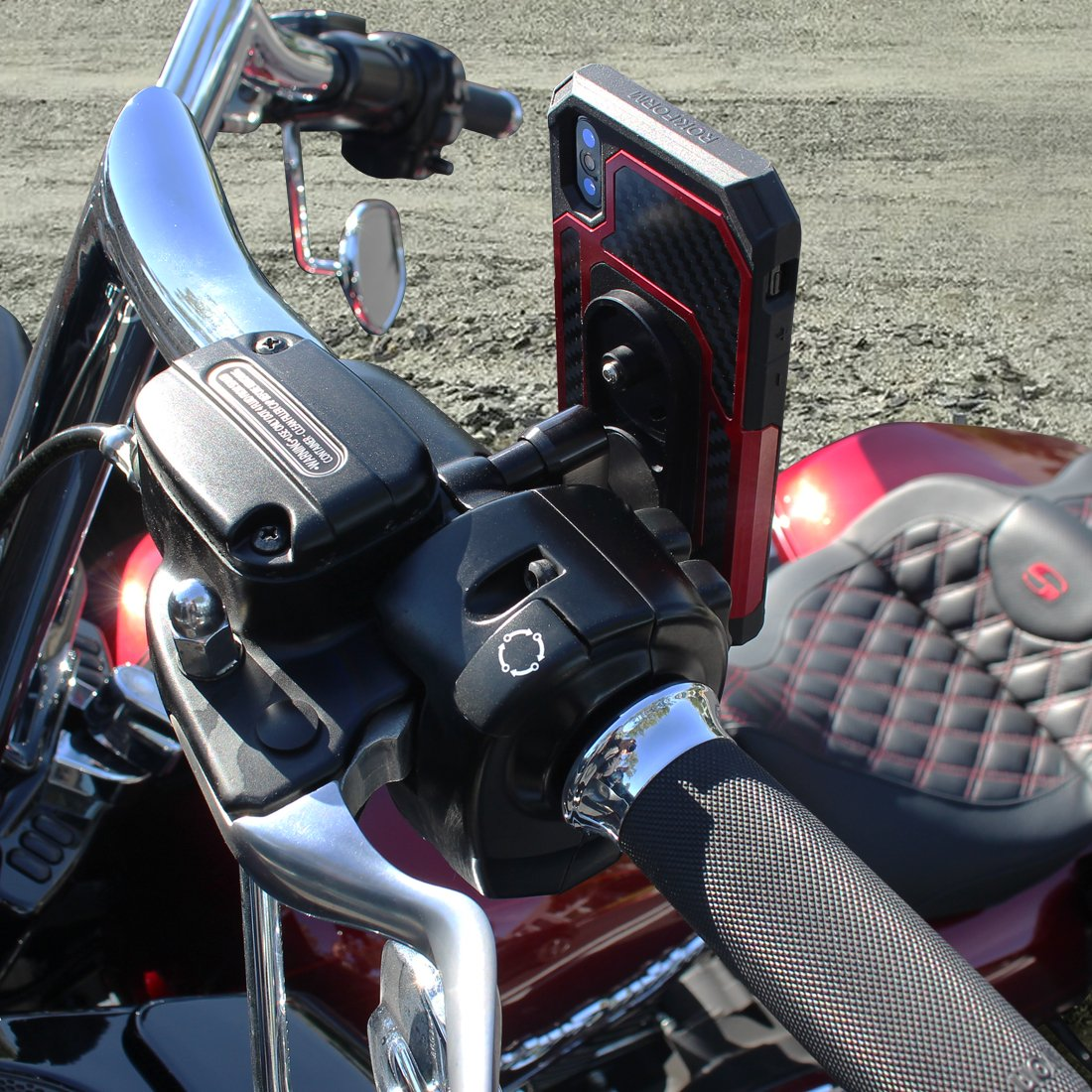 Rokform Motorcycle Perch Mount Baum Customs