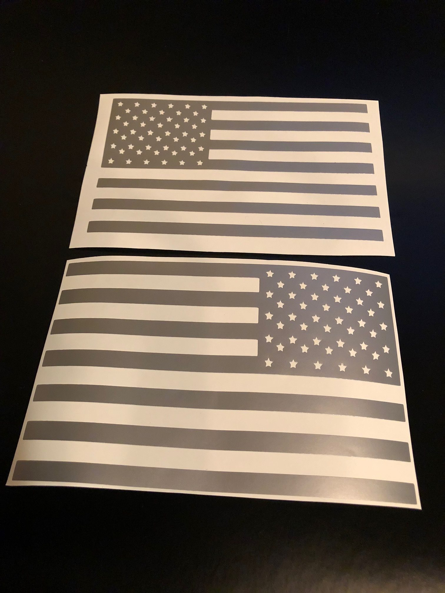American Flag Battery Fuse Box Decal Baum Customs Harley Dyna